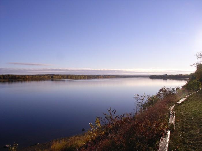 La rivière Saint-Jean à Fredericton