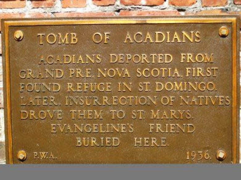 Tomb of Acadians