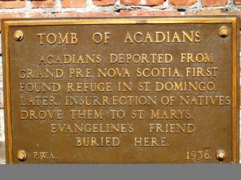 Tombeau des Acadiens