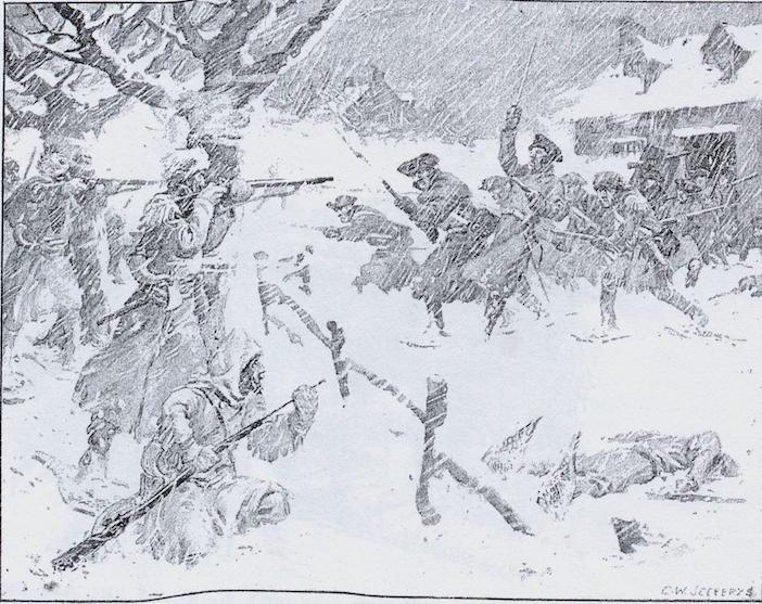 La bataille de Grand-Pré