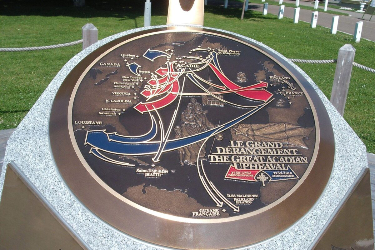 The Great Acadian Upheaval