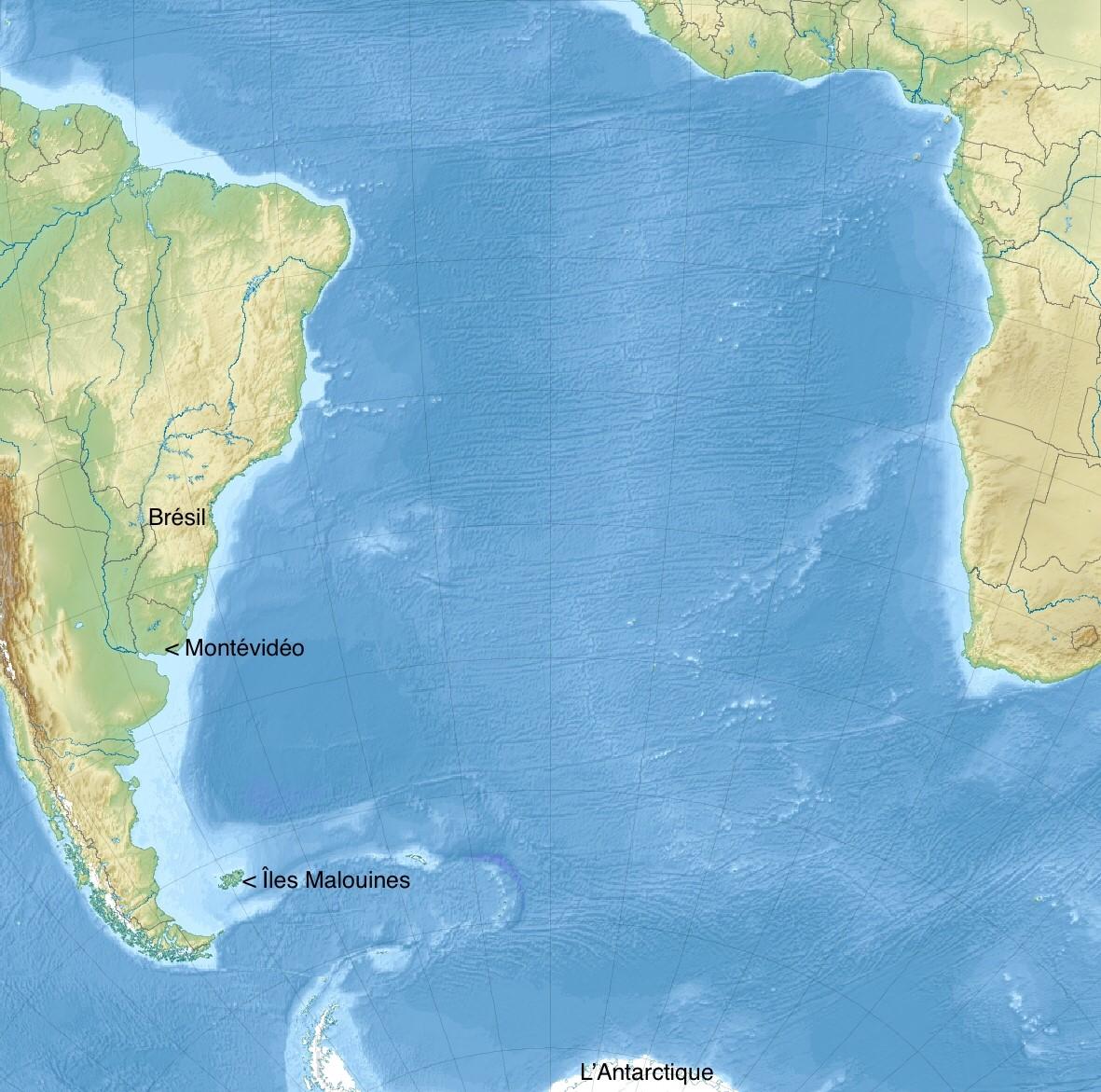 L'Atlantique Sud