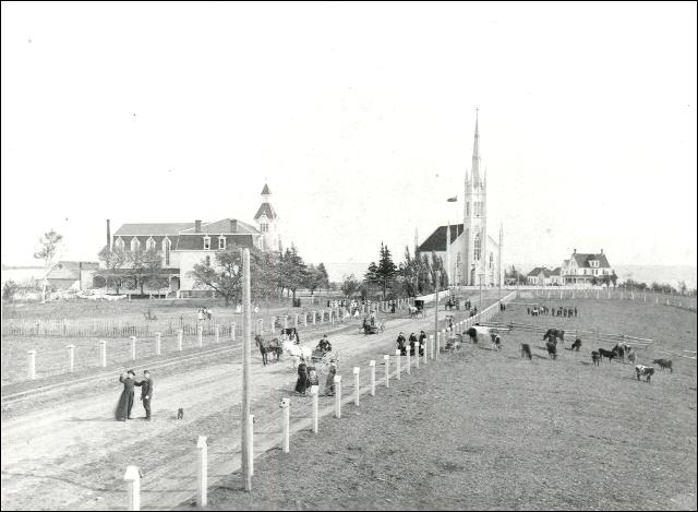 Ville de Bouctouche en 1893