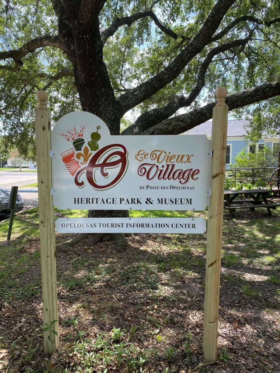 The Old Village of Opelousas' Post