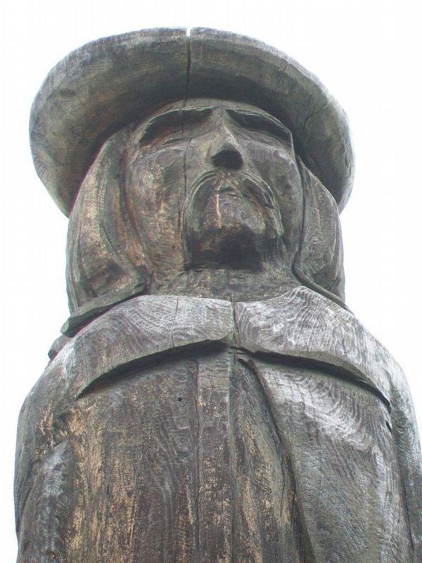 Statue du sieur Philippe Mius d'Entremont