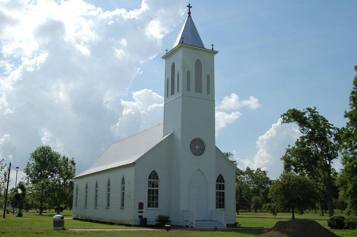 L'actuelle église Saint-Gabriel