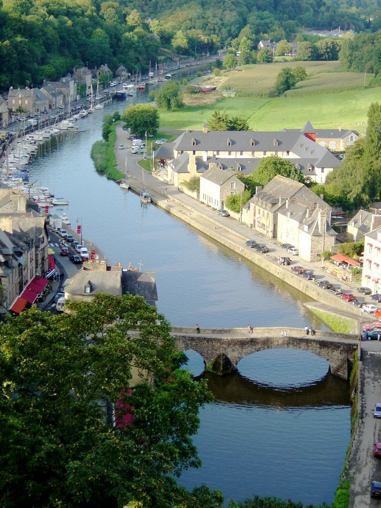 Estuary of the Rance in Dinan