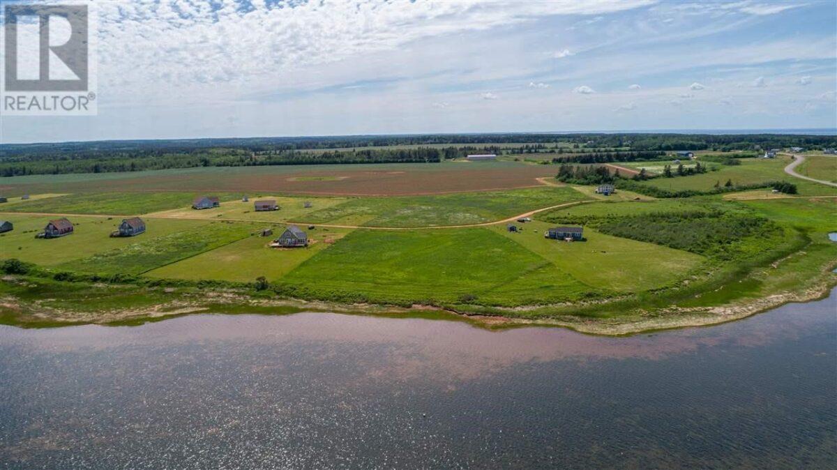 Les terres agricoles de Savage Harbour