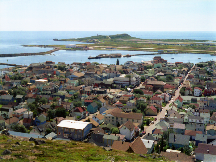Town of Saint-Pierre