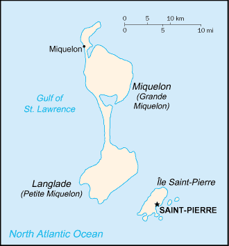 Archipelago of Saint-Pierre and Miquelon