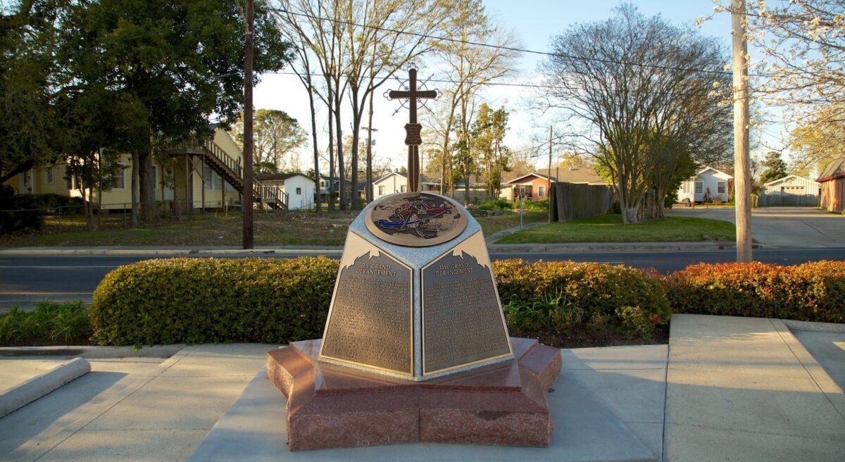 Croix de la Déportation des Acadiens
