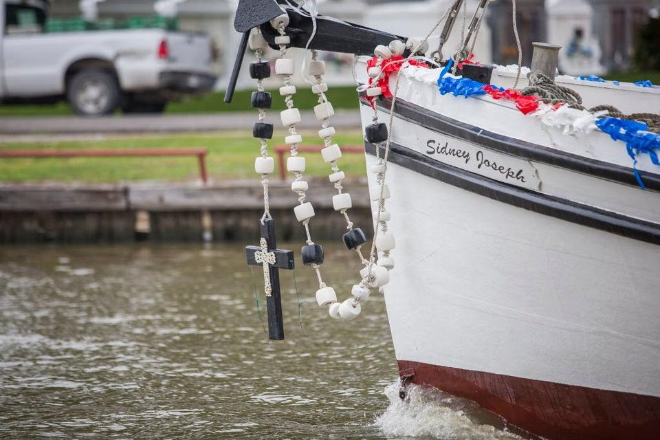Bénédiction de la flotte à Chauvin