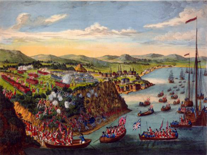View of the capture of Quebec City