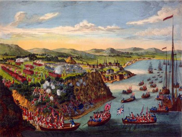 Vue de la prise de Québec