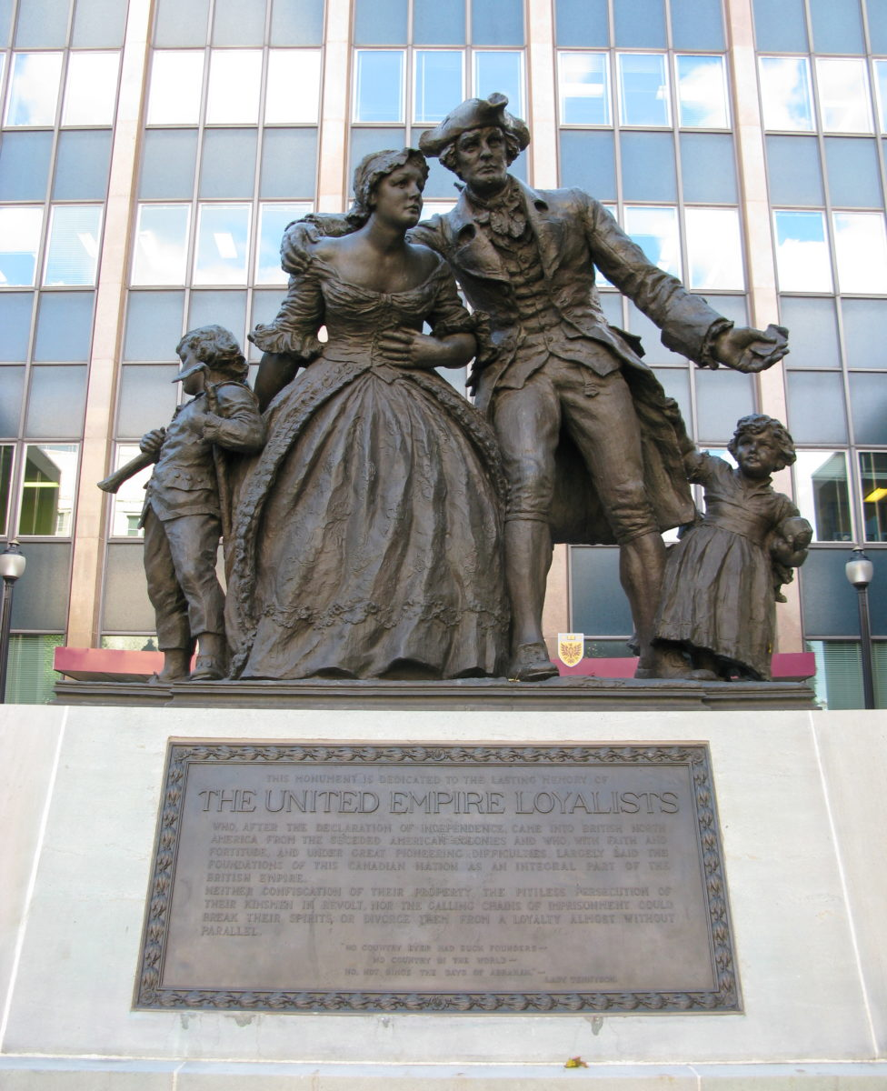 Statue of American Loyalists