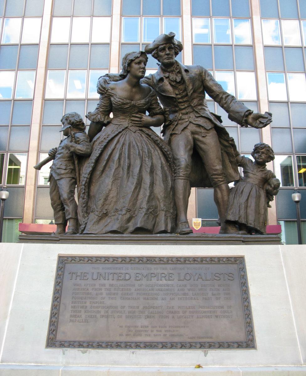 Statue de Loyalistes américains