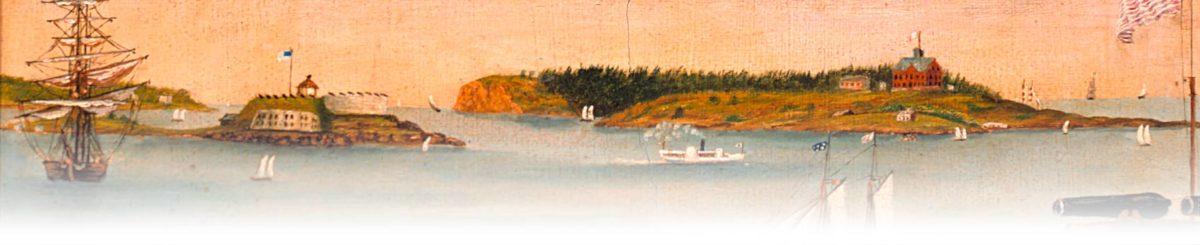 Portland harbor 1853